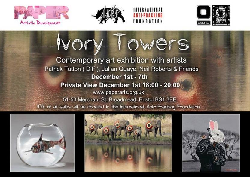 Ivory Towers - new exhibition #Bristol